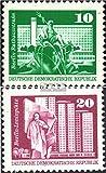Prophila Collection DDR 1868-1869,1947-1948, 1968,2022 (kompl.Ausg.) glatter Druck 1973 Aufbau in der DDR, Rastertiefdruck (Briefmarken für Sammler)