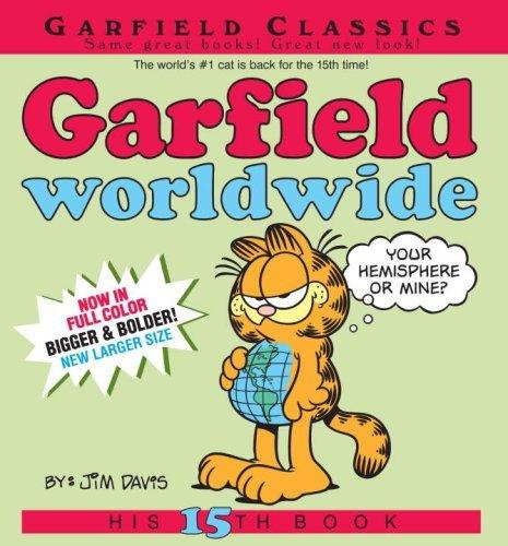 Garfield Worldwide: His 15th Book by Jim Davis (June 26,2007)