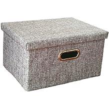 suchergebnis auf f r aufbewahrungsbox stoff mit deckel. Black Bedroom Furniture Sets. Home Design Ideas