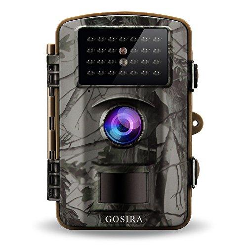 Gosira 12MP HD 1080P Wildlife - Cámara con...