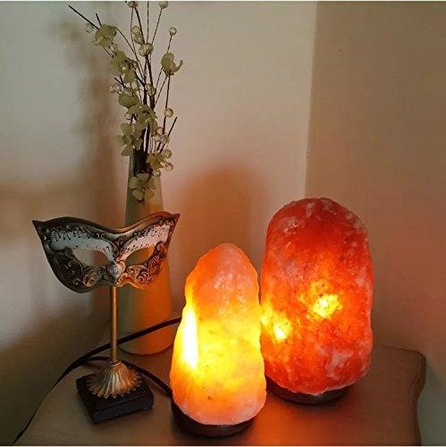 2 3 kg natural pink himalayan crystal rock salt lamp with for Certified himalayan salt lamp
