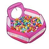 Recinto del bambino BSNOWF Baby Box Kids Ball Pit Grande Pop Up Toddler Ball Pits Tenda per I più Piccoli Ragazzi per Le Ragazze All'aperto (Palle Non Incluse) (Colore : Pink)