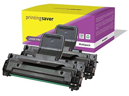 2X SCHWARZ Toner kompatibel für Samsung ML-1640, ML-1641, ML-1642, ML-1645, ML-2240, ML-2241 drucker (Samsung Ml2240 Toner)