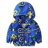 Kinder Mäntel Sunnydrain Kinder Jacken Hoodie Muster Reißverschluss Unisex Winter Warm Herbst Kapuzen Outerwear Baumwolle Langarm