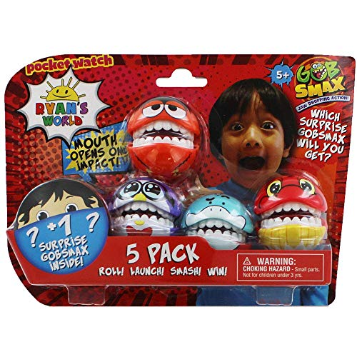 Ryan's World Gobsmax 5 Pack - Collectable Figures