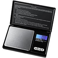 Báscula portátil AMIR, escala de precisión digital 200g/0,01g, balanza digital