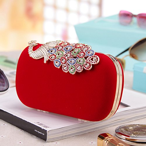 AiSi Organizer borsa, Red (rosso) - hyh-08 Red