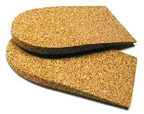 Cork Heel Lift (9mm) - Women 10.5+, Men 7.5-9.5 by G amp; W Heel Lift, Inc.