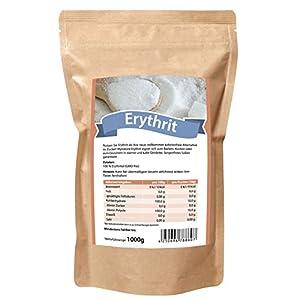 Mynatura Erythrit Erythritol ZUCKERERSATZ - kalorienfreies Süßungsmittel -...