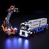 BRIKSMAX Led Beleuchtungsset für Lego Technic Container Transport,Kompatibel Mit Lego 42062 Bausteinen Modell - Ohne Lego Set