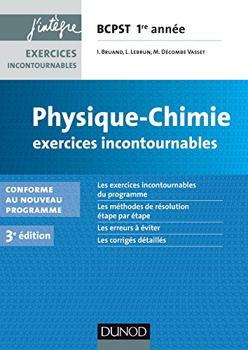 Physique-Chimie Exercices incontournable...