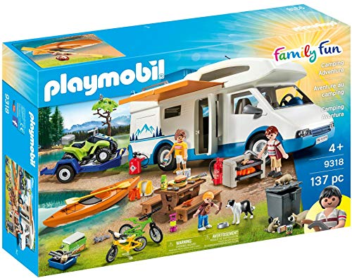 Playmobil 9318 - Family & Fun Camping Set -