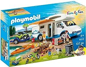 PLAYMOBIL Family Fun Camping Aventura, a Partir de 4 Años (9318)