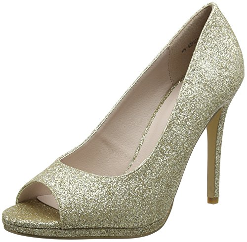 New Look Wide Foot Sparkle, Bout Ouvert Femme