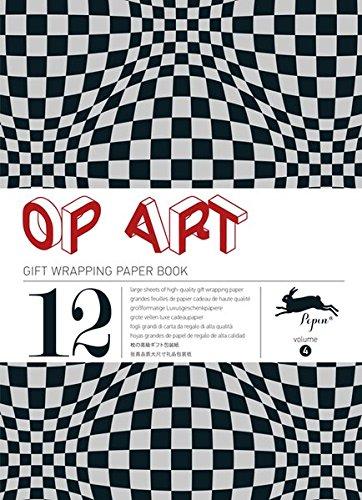 Op Art, Vol. 4 : Grandes feuilles de papier cadeau de haute qualit