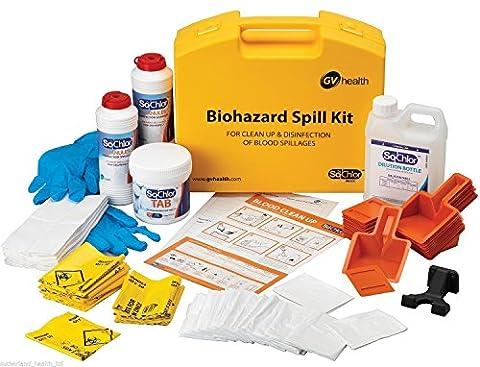 GV Health Biohazard and Bodily Fluid Multi Spill Kit - Pack of 25