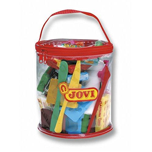 jovi-340-bolsa-de-plastico-con-plastilina-color-rojo