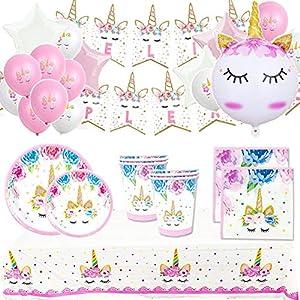 Pack Cumpleaños Unicornio para Infantil