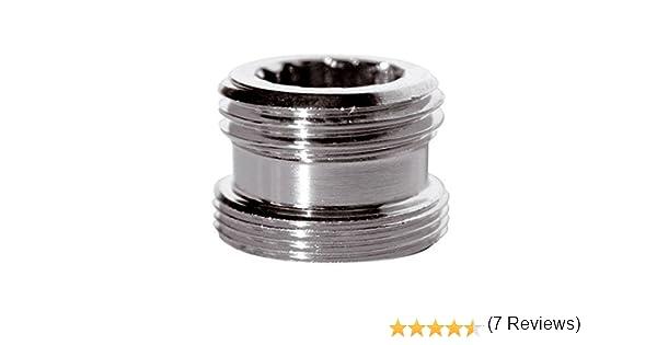 Riduzione adattatore metallico per il rubinetto di acqua del rubinetto 22 millimetri femminile a 1//2 falegname maschio bsp