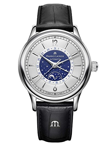 Maurice Lacroix Les Techniques Automatic Men's Watch with Moon Phases, LC6168 SS001