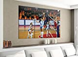 Acrylglasbilder 3 Teilig 120x100cm Volleyball Spiel Frauen Turnier Druck Acrylbild Acrylglas Acrylbilder Wand Bild 14E1707, Acrylgröße 8:gesamt 120x100cm