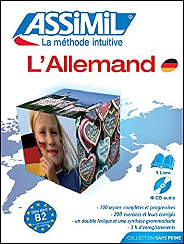 L'Allemand ; Livre + CD Audio
