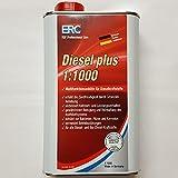 ERC Diesel Plus Additiv 1:1000 Konzentrat mit Biozid Cetanzahl-Erhöhung Booster für Diesel und Biodiesel / 1 Liter
