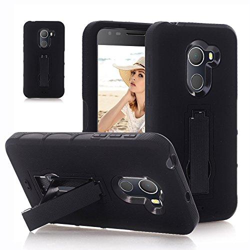 F&a® Festigkeit Smartphone Hülle mit Kickstand für Alcatel A30 Plus(5)
