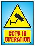 #4: The Kitabwala Sign Cctv Camera Surveillance Poster Sign (9