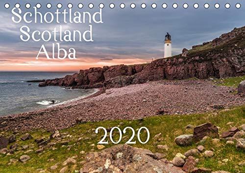 Schottland - Scotland - Alba (Tischkalender 2020 DIN A5 quer): 13 brillante Bilder zeigen Schottlands faszinierende Landschaft auf beeindruckende Weise. (Monatskalender, 14 Seiten ) (CALVENDO Orte) -