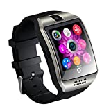 Smartwatch,TKSTAR Touchscreen Smart Watch Telefon Smart Business Uhr Q18 Armband Uhr mit Bluetooth Kamera Unterstützung SIM TF Karte Smartwatch für Android Samsung LG Google Pixel und iPhone