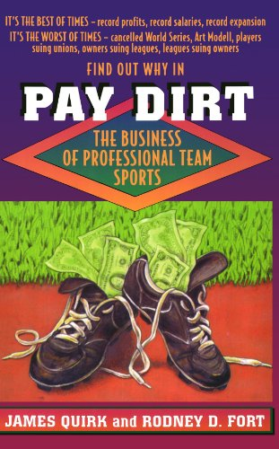Pay Dirt: The Business of Professional Team Sports di James P. Quirk