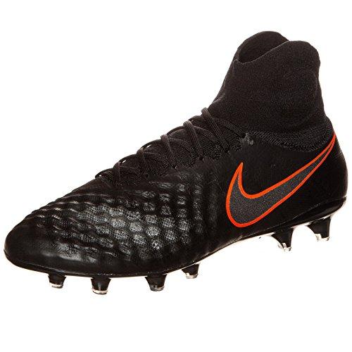 Nike Magista Obra Ii Fg, Chaussures de Football Homme Noir