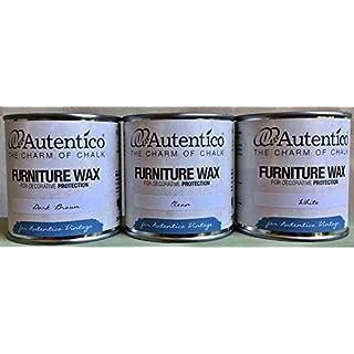 Autentico Furniture Wax - 250ml - White