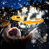 ANKOUJA LED Weihnachtsbeleuchtung 3D Projektor für Kinder Geschenk Christmas Lights IP65 Weihnachtsprojektor mit Fernbedienung Projektionslampe Außen Innen für Weihnachten Timer 20 Patterns