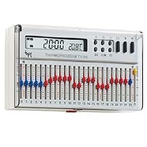 Cronotermostato elettronico giornaliero da parete bianco for Fiorina forniture elettriche
