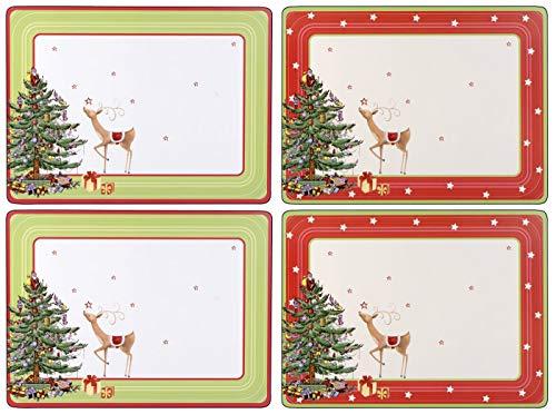 Pimpernel Christmas Jubilee Tischunterlage 4 Stück (m) -