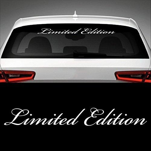 Limited Edition Heckscheibenaufkleber 60,0 cm x 7,5 cm Auto Aufkleber JDM OEM Tuning Sticker Decal 30 Farben zur Auswahl #1