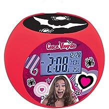 Chica Vampiro Chica Vampiro-Rl975Cv Radio Reloj Despertador con Proyector de Imagen (Lexibook RL975CV