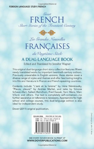 Great French Short Stories (Dover Dual Language French)