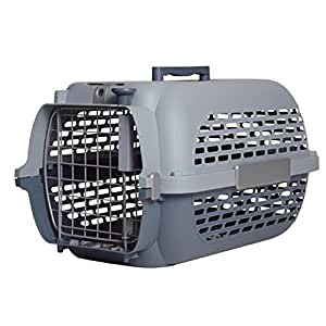 Catit/ Dogit Voyageur Cat/ Dog Carrier, Small, 48 x 32 x 28 cm, Cool Grey