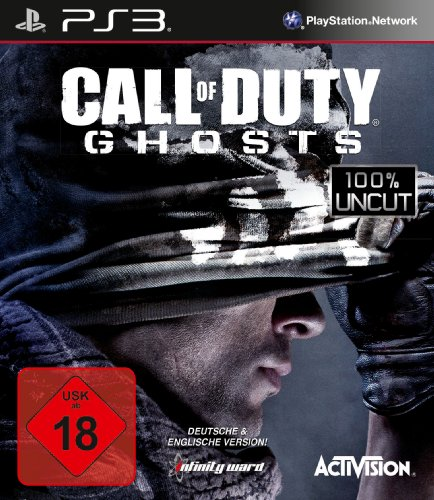 Playstation Spiel Neu 3 (Call of Duty: Ghosts (100% uncut) - [PlayStation 3])