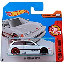 Hot Wheels 90 Honda Civic EF - Serie Then and Now 2017 - 2/