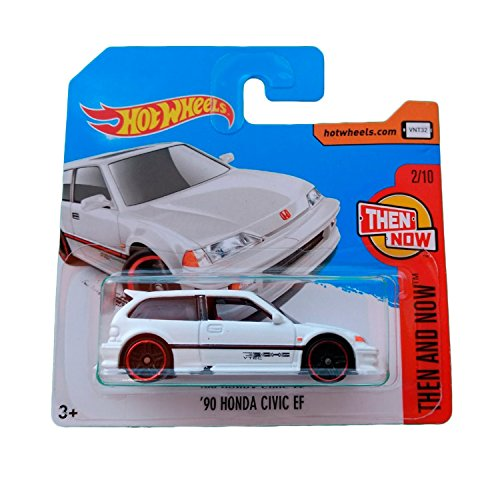 Hot Wheels '90 Honda Civic EF - Serie Then and Now 2017 - 2/10 (Short Card)