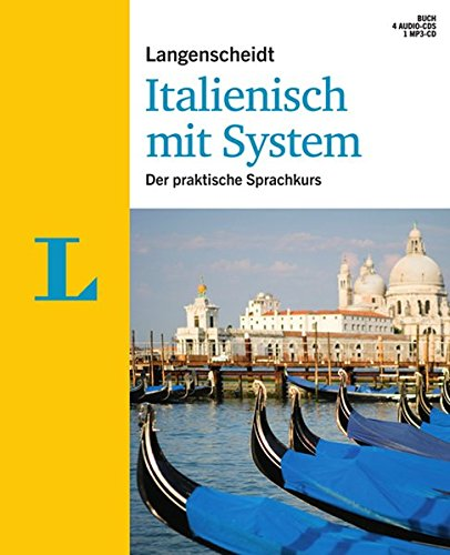 Langenscheidt Italienisch mit System - Set mit Buch, 4 Audio-CDs und 1 MP3-CD: Der praktische Sprachkurs