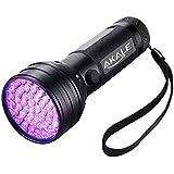 Akale UV-Taschenlampe Ultraviolett LED mit 21 LEDs 395nm, UV-Strahler, Handlampe, Prüfgerät, Fleckendetektor / Urindetektor für Haustiere wie Katze, Hund usw.