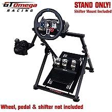 GT Omega Racing APEX Soporte de volante para Fanatec CSL Elite Gaming Wheel, pedales y