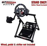 GT Omega Racing APEX Soporte de volante para Fanatec CSL Elite Gaming Wheel, pedales y palanca de cambios - Compatible con Fanatec Clubsport PS4 Xbox PC