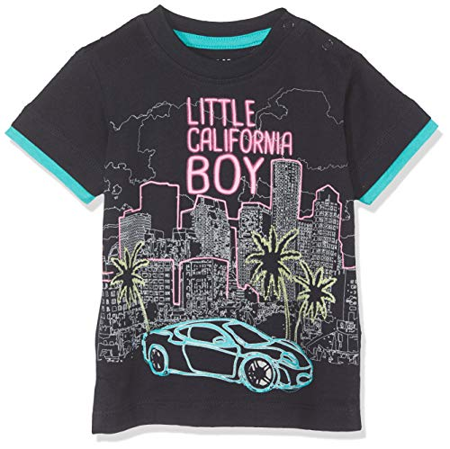 Blue Seven Baby - Jungen T-Shirt, Rundhals T-Shirt, per Pack Blau (Nachtblau 590), 86 (Herstellergröße: 86) -