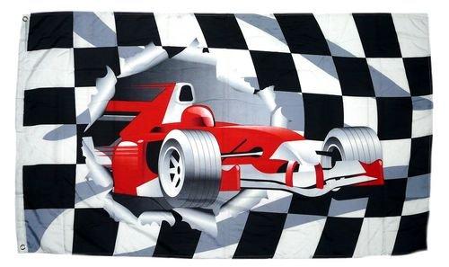 Fahne / Flagge Formel 1 Start Ziel NEU 90 x 150 cm